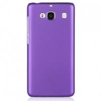 Пластиковый матовый непрозрачный чехол для Xiaomi RedMi 2 Фиолетовый