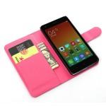 Чехол портмоне подставка с защелкой для Xiaomi RedMi 2
