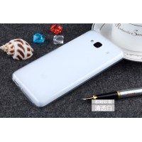Силиконовый полупрозрачный чехол для Xiaomi RedMi 2 Белый