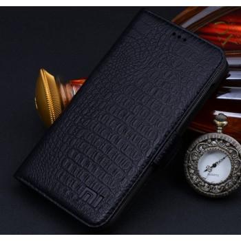 Кожаный чехол портмоне (нат. кожа крокодила) для Xiaomi RedMi 2