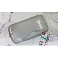 Силиконовый S чехол для Alcatel One Touch Pop C5 Серый