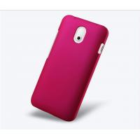 Пластиковый чехол серия Metallic для HTC Desire 210 Пурпурный