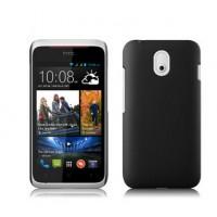 Пластиковый чехол серия Metallic для HTC Desire 210 Черный