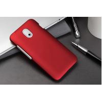 Пластиковый чехол серия Metallic для HTC Desire 210 Красный