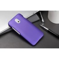 Пластиковый чехол серия Metallic для HTC Desire 210 Фиолетовый