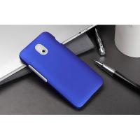 Пластиковый чехол серия Metallic для HTC Desire 210 Синий