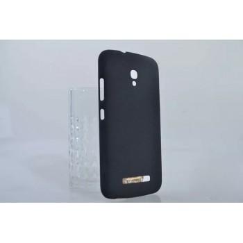 Пластиковый матовый непрозрачный чехол для Alcatel One Touch Pop S9