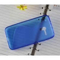 Силиконовый S чехол для Alcatel One Touch Pop D5 Синий