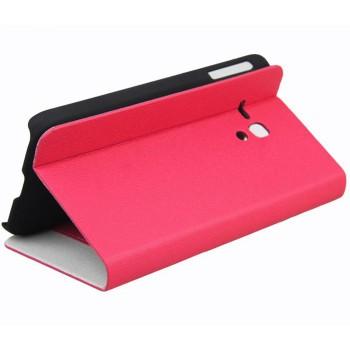 Чехол флип-подставка с отделением для карт для Alcatel One Touch Pop D5