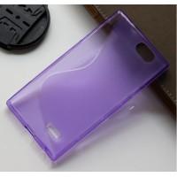 Силиконовый S чехол для ZTE Blade L2 Фиолетовый