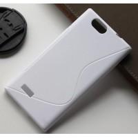 Силиконовый S чехол для ZTE Blade L2 Белый