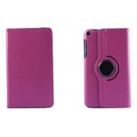 Чехол подставка роторный для Asus FonePad 8 Фиолетовый