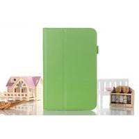 Чехол подставка с рамочной защитой серия Full Cover для Asus FonePad 8 Зеленый