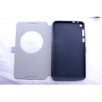 Чехол флип подставка дизайнерский на силиконовой основе с окном вызова для планшета Asus FonePad 8
