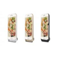 Пластиковый чехол/экстра аккумулятор (8000 мАч) с подставкой для Iphone 6 Plus