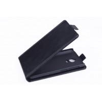 Чехол вертикальная книжка на пластиковой основе с магнитной застежкой для Explay 4Game Черный