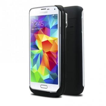Пластиковый чехол/экстра аккумулятор с функцией подставки (4800 мАч) Samsung Galaxy S5