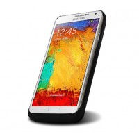 Пластиковый чехол/экстра аккумулятор (4600 мАч) для Samsung Galaxy Note 3