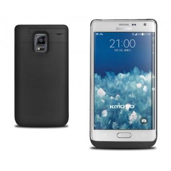 Пластиковый чехол/экстра аккумулятор (4600 мАч) с подставкой для Samsung Galaxy Note Edge