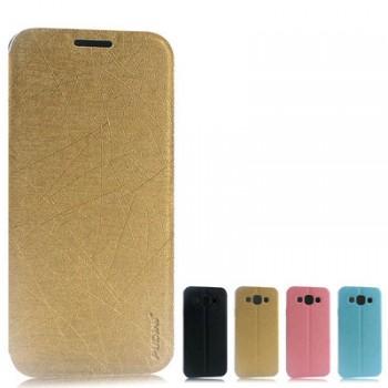 Чехол флип-подставка на присосках для Samsung Galaxy E5