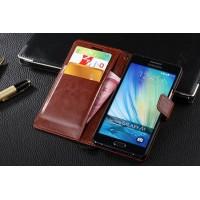 Чехол портмоне подставка с защелкой для Samsung Galaxy A5