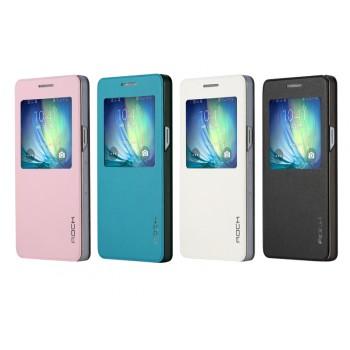 Чехол флип на пластиковой основе серия Crystal Rear для Samsung Galaxy A5
