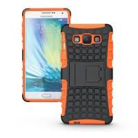 Силиконовый чехол экстрим защита для Samsung Galaxy A5 Оранжевый