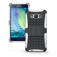 Силиконовый чехол экстрим защита для Samsung Galaxy A5 Белый