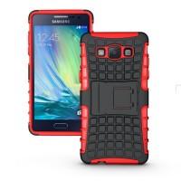 Силиконовый чехол экстрим защита для Samsung Galaxy A5 Красный