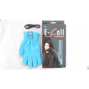 Шерстяные-акриловые сенсорные смарт-перчатки со встроенной bluetooth гарнитурой и микрофоном размер L