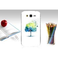 Пластиковый матовый дизайнерский чехол с УФ-принтом для Samsung Galaxy Grand