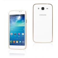 Ультратонкий металлический бампер для Samsung Galaxy Mega 5.8 Серый
