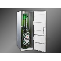 Портативный USB-холодильник с экстра-функцией нагрева (диапазон от 10 до 50 С) для LG X view