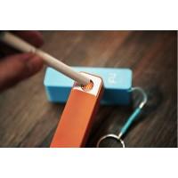 Карманный безопасный электронный прикуриватель с функциями портативного устройства сохранения заряда гаджета 2600 мАч для Sony Xperia M4 Aqua (E2306, E2353, E2363, E2333, E2312, dual, E2303)