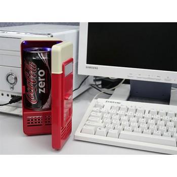 Портативный USB-холодильник с экстра-функцией нагрева (диапазон от 8 до 65 С)