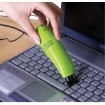 Ультрапортативный USB-пылесос для очистки труднодоступных поверхностей с насадкой-щеткой