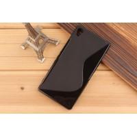 Силиконовый S чехол для Sony Xperia Z3 Черный