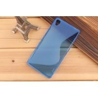 Силиконовый S чехол для Sony Xperia Z3 Синий