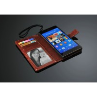 Чехол портмоне подставка с магнитной защелкой для Sony Xperia Z3
