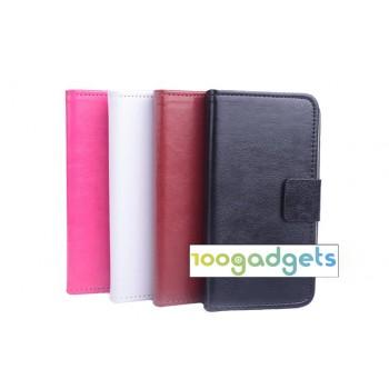 Чехол портмоне подставка с защелкой для Alcatel One Touch Idol 2 mini