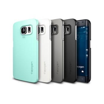 Ультратонкий матовый нескользящий премиум чехол для Samsung Galaxy S6 Edge