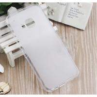 Силиконовый матовый полупрозрачный чехол для HTC One M9 Белый
