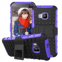 Силиконовый чехол экстрим защита для HTC One M9 Синий