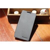 Тонкий чехол флип для Lenovo S890 Черный
