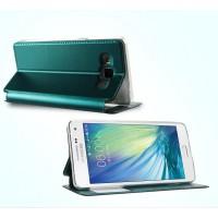 Чехол флип подставка на силиконовой основе с окном вызова для Samsung Galaxy A5