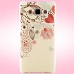 Пластиковый матовый дизайнерский чехол с УФ-принтом для Samsung Galaxy A5