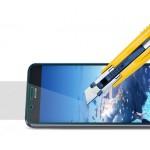 Ультратонкое износоустойчивое сколостойкое олеофобное защитное стекло-пленка для Huawei Ascend GX1