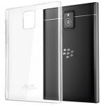 Пластиковый транспарентный чехол для Blackberry Passport
