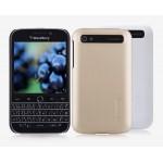 Пластиковый нескользящий матовый премиум чехол для Blackberry Classic