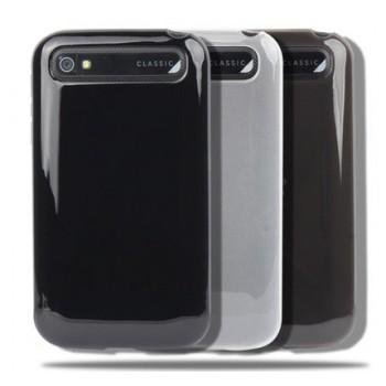 Силиконовый глянцевый чехол для Blackberry Classic